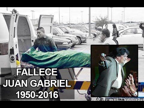LAMENTABLE | Así Murió Juan Gabriel | Que En Paz Descanse 1950-2016