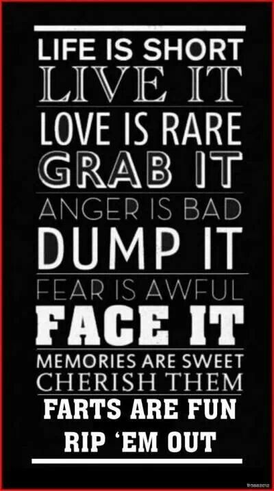 Live it | Posters | Pinterest | Quotes, Life Quotes and Words