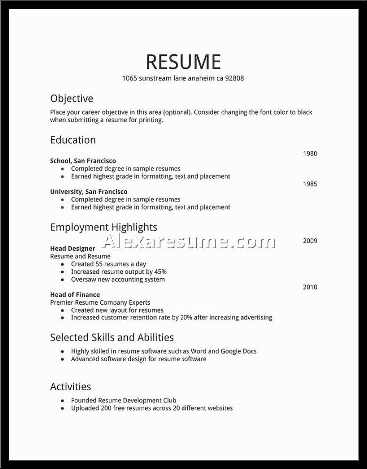 Pinterestu0027teki 25u0027den fazla en iyi Best resume examples fikri - the best font for resume