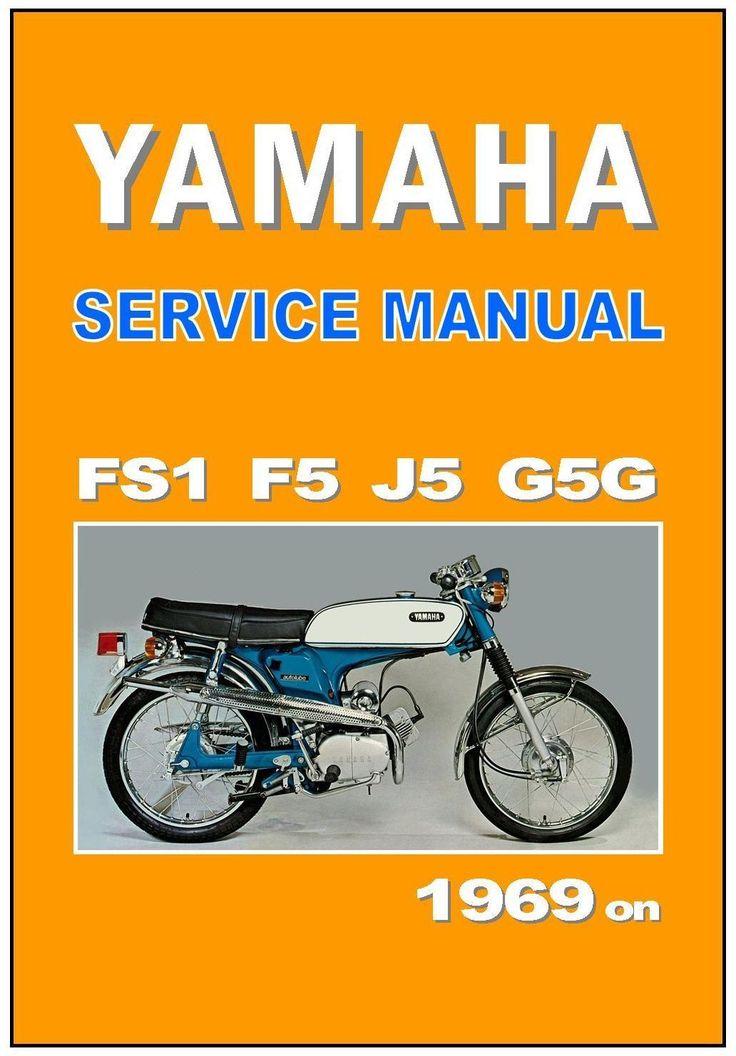 Yamaha Workshop Manual F5 FS1 J5 G5G 1969 1970 1971 1972 1973 Service Repair | eBay