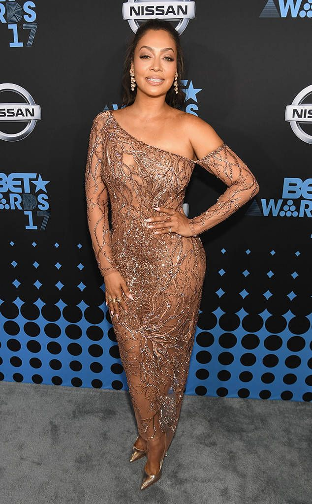 La La Anthony from BET Awards 2017 Red Carpet  The birthday girl celebrates her big day in style at the BET Awards.