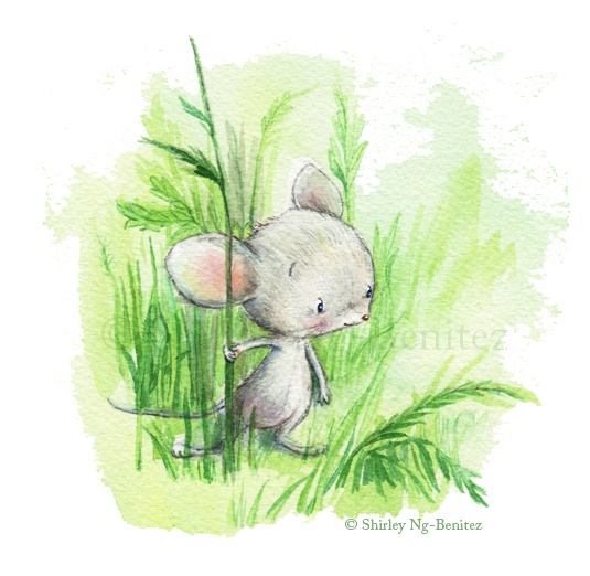 Shirley's Illustrations: Patching in here and there..