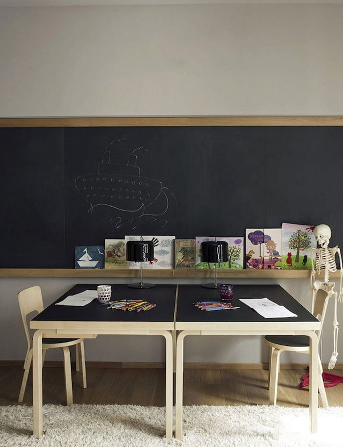 Kids Study Room Design: Shared Workspaces For Kids