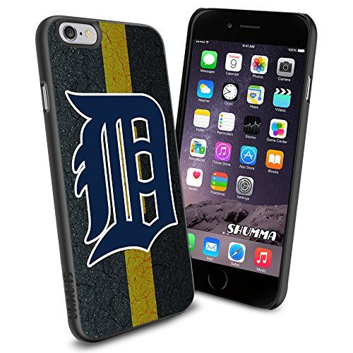 """MLB Tigers iPhone 6 4.7"""" Case Cover Protector for iPhone 6 TPU Rubber Case SHUMMA http://www.amazon.com/dp/B00WMXWEVG/ref=cm_sw_r_pi_dp_fsYovb186G0HG"""