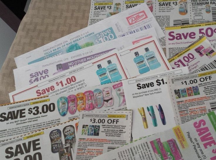 Various Razor, Playtex, and Listerine Coupons #Coupons