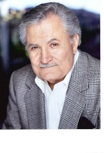 John Aniston (born Yannis Anastasakis) Greek-American actor known for his role as Victor Kiriakis in the NBC daytime drama 'Days of our Lives'. He was born in the Greek island of Crete and moved with his parents to the US when he was just 2 years old. Father of Jennifer Aniston.