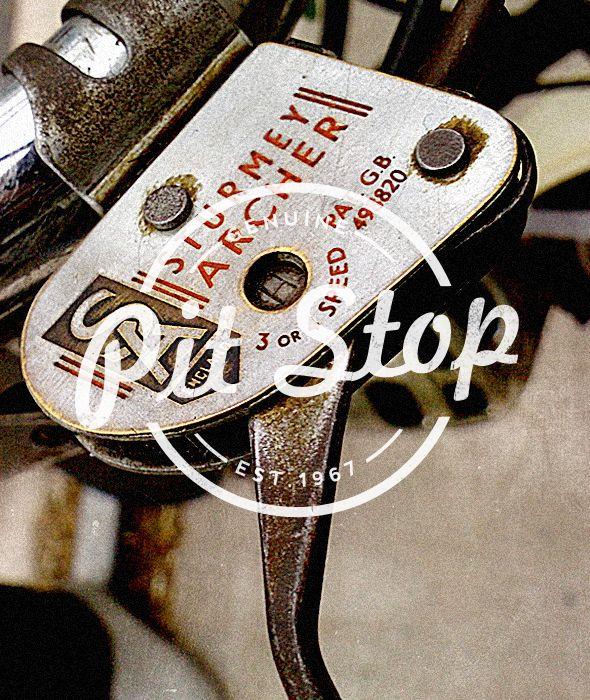 "Pit Stop - ""Vintage Bike Shop Label/Badge"" Buy from - http://graphicriver.net/item/premium-quality-8-vintage-labels-col-n4/6361247?WT.ac=portfolio&WT.seg_1=portfolio&WT.z_author=SAOStudio"