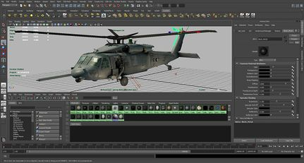 Autodesk Maya /ˈmɑːjə/, commonly shortened to Maya, is 3D computer graphics software that runs on Windows, Mac OS and Linux, originally developed by Alias Systems Corporation (formerly Alias|Wavefront) and currently owned and developed by Autodesk, Inc. It is used to create interactive 3D applicatio...