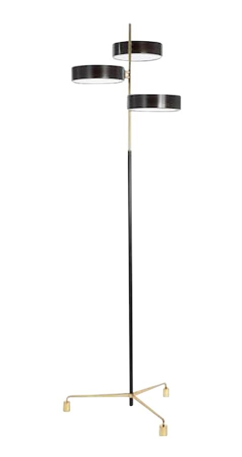 Buy the abbott floor lamp by studio van den akker made to order designer lighting from dering halls collection of contemporary industrial traditional