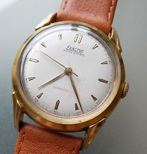 EXACTUS/PRECIMAX Vintage Oversize Dresswatch Calatrava Stil ++ 1960er Handaufzug