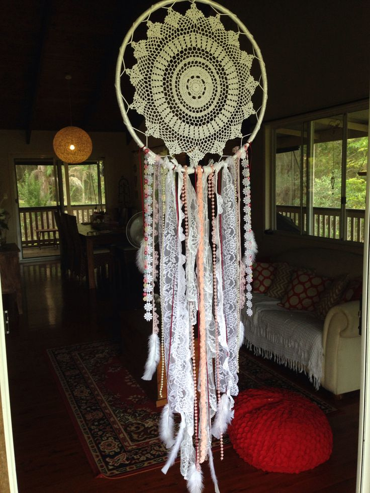 17 best images about dream catchers on pinterest catcher for Easy homemade dream catchers
