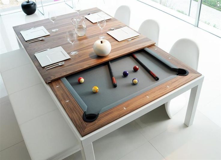 Fusion Table: Dining Table And Pool Table Photo