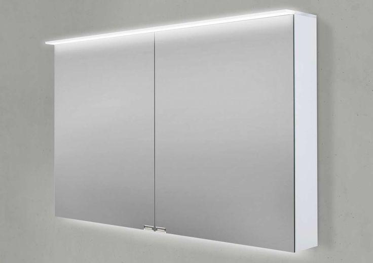 Spiegelschrank 100 cm LED Acryl Lichtplatte doppelseitig verspiegelt Jetzt bestellen unter: https://moebel.ladendirekt.de/bad/badmoebel/spiegelschraenke/?uid=102e5895-df3b-5595-83ad-83938cf5f674&utm_source=pinterest&utm_medium=pin&utm_campaign=boards #spiegelschraenke #spiegelschränke #bad #badmoebel
