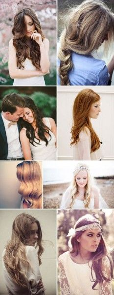 Loose Wedding Hair - Wedding look