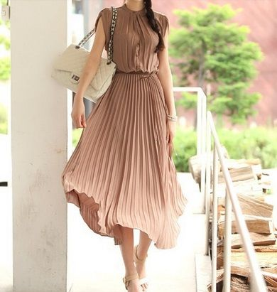 Klik w zdjęcie, a przejdziesz do sklepu :) Sukienka maxi plisowana