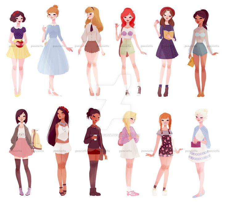casual+princesses+++one+queen+by+muttonfudge.deviantart ...