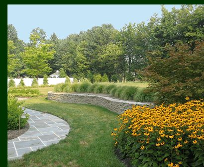 Landscaping Around My Raised Septic System Landscape
