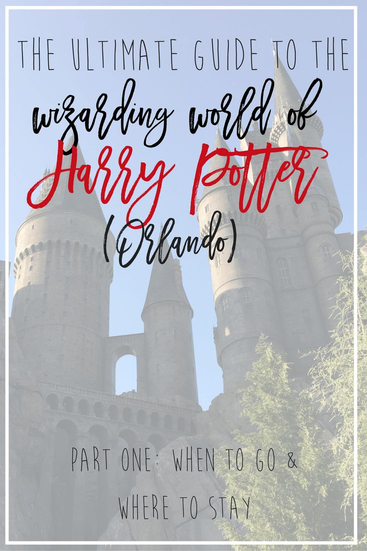 The Ultimate Guide to the Wizarding World of Harry Potter (Universal Studios Orlando) Part One. We knew nothing about going to Florida or Universal Studios before we went on this trip, so I'm sharing all the information, tips and ticks to having an amazing trip to Harry Potter world, including a review on staying at the Cabana Bay hotel and resort. // Hey There, Chelsie