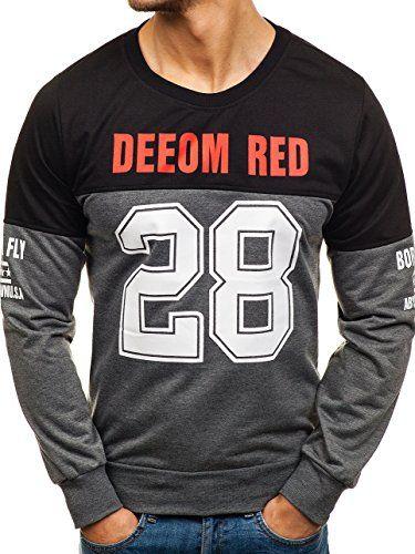 Amazon  BOLF  Bekleidung  Herren  Pullover  Pullover Strickjacken  Shirts   1402ca28a4