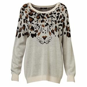 WILD CAT SWEATER | Knitwear | Shop | Sportsgirl Mobile