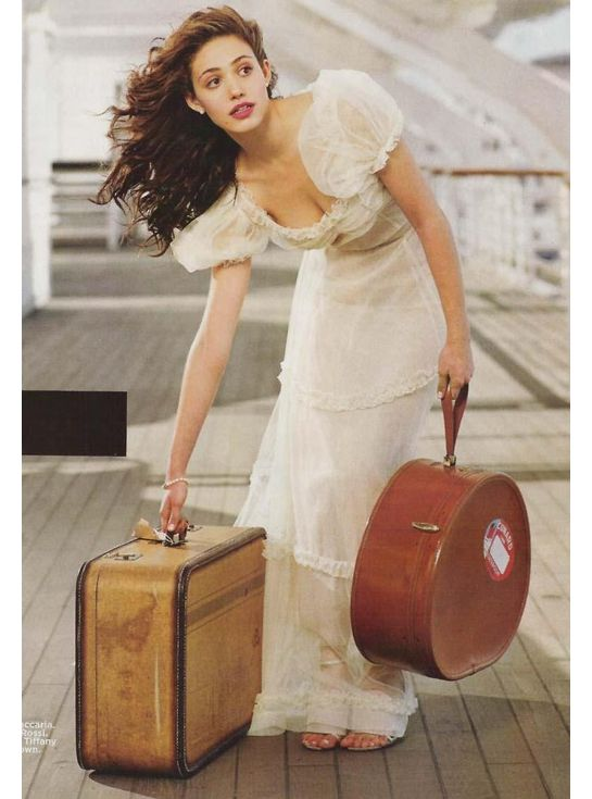 I would cast Emmy Rossum as Haddasah in the Mark of the Lion Series by Francine Rivers