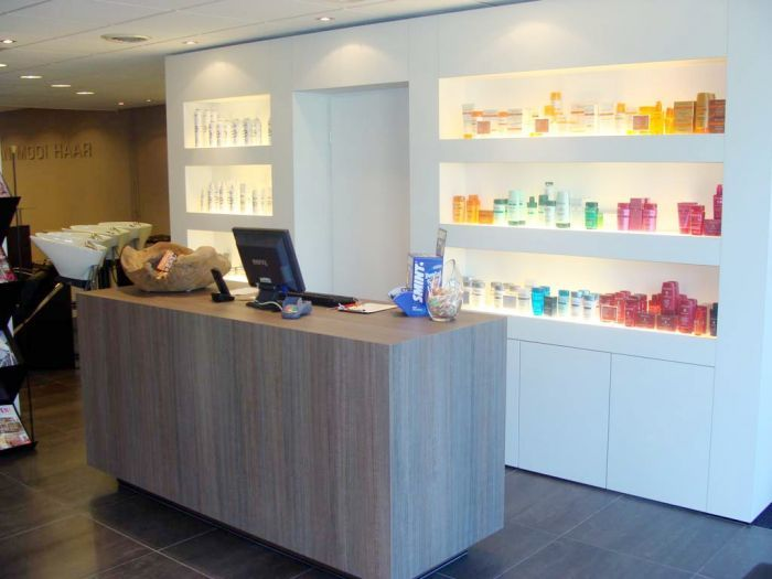 Interieur kapsalon powerfood pinterest salons and for D design kapsalon interieur