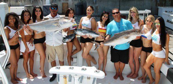 Its mission is to give an outstanding Miami fishing experience deep ocean fishing are close behind abundance like salfish ,marlin, dolphin.