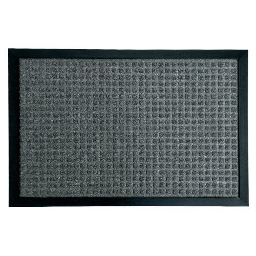 RubberCal 03200ZWCH Nottingham Rubber Backed Carpet Entry Indoor Doormat 2 x 3 Charcoal * Check out this great product.