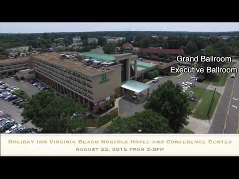Holiday Inn Greenwich Aug 23 Aerial Promo