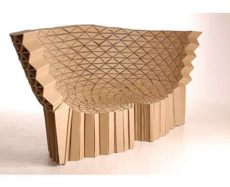 16 Clever Cardboard Chairs - From Cinema Seating to Bar Benches (CLUSTER)