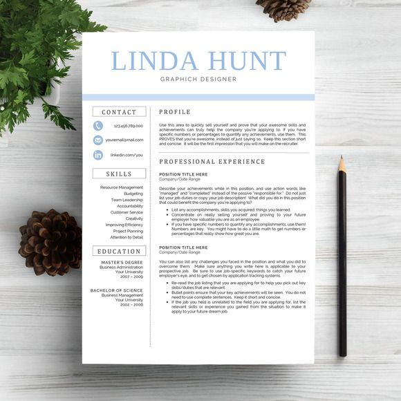 Download Professional Resume Template Creativework247