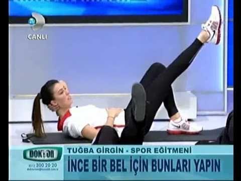 Dr.Ayça Kaya 6 Şubat Doktorum Programı Karın Egzersizleri 2.Kısım - YouTube