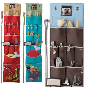 Hanging Pet Organizers → Solstice - storage for everything your best pal owns.