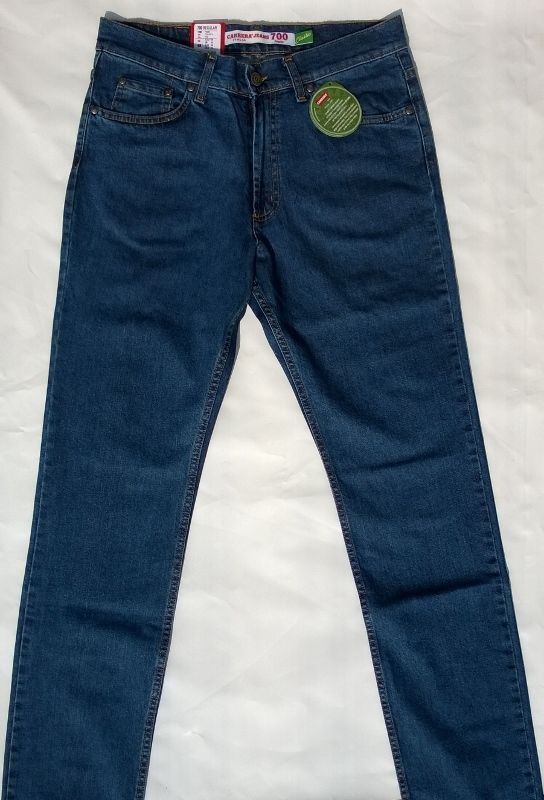 Jeans Carrera Uomo Art700/921A Denim Elasticizzato 46/62 Zip Frontale 5 Tasche