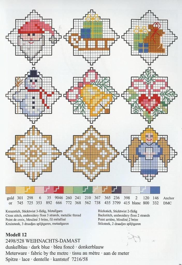 682 best cross stitch christmas images on pinterest. Black Bedroom Furniture Sets. Home Design Ideas