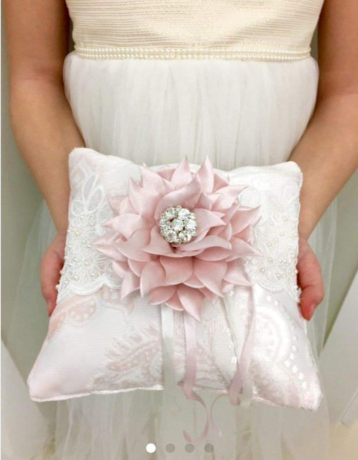 Wedding ring pillow pink velvet ring bearer pillow wedding ring pillow ring cushion wedding pink velvet pillow wedding ring pillow cushion by APillowstory on Etsy