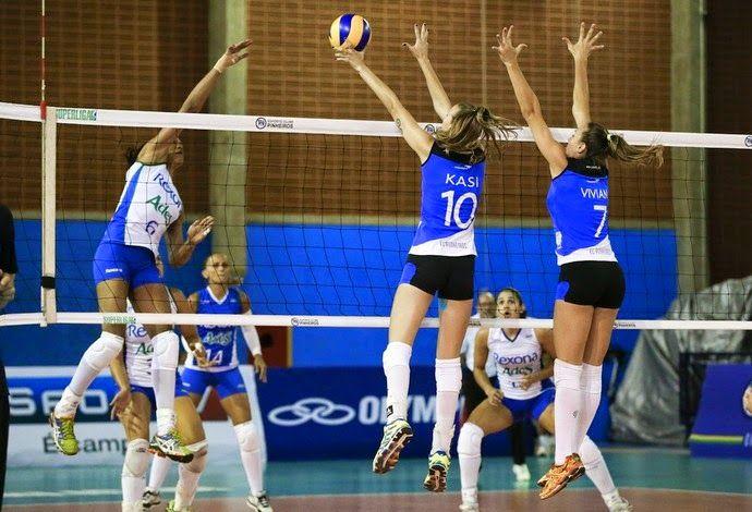 Blog Esportivo do Suíço: Rio de Janeiro bate Pinheiros e segue invicto na Superliga feminina