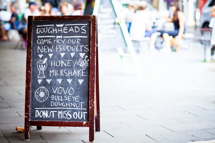 Doughheads - Gourmet doughnuts in Newcastle Mall