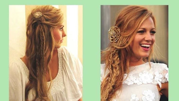 Abiball Frisuren Langes Haar Halboffen – Frisuren …