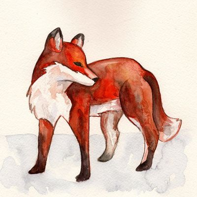 17 best ideas about red fox tattoos on pinterest red for Cool fox drawings