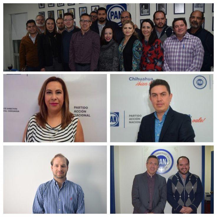 Anuncian nuevos nombramientos en el Comité Directivo Estatal del PAN en Chihuahua   El Puntero