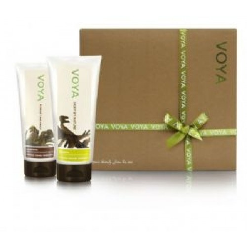 Hair Gift Set from Voya - I just tried these today and loved them. They worked great and didn't leave my hair feeling either dry or too weighed-down = perfect!