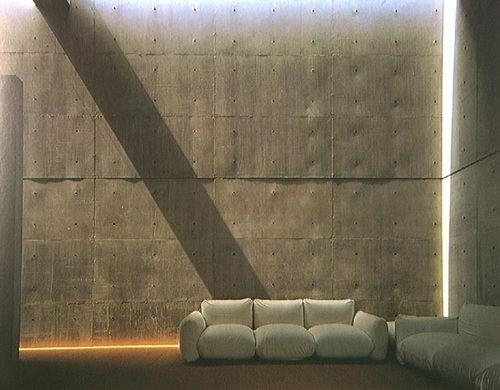 Tadao Ando Koshino House—Living room 1979-1981