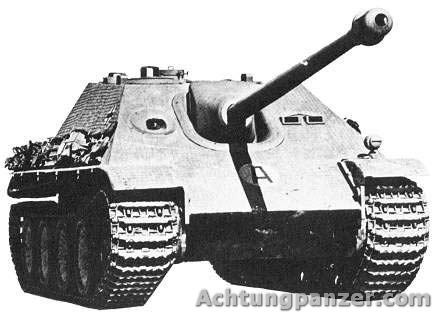 torsion bar suspension jagdpanther
