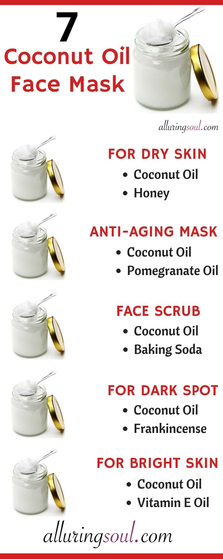 7 Coconut Oil Face Mask For Flawless Skin