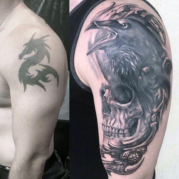 Best 25 Black Tattoo Cover Up Ideas On Pinterest: Best 25+ Cover Up Tattoos For Men Arm Ideas On Pinterest