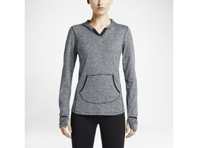 Damska bluza z kapturem do biegania Nike Element