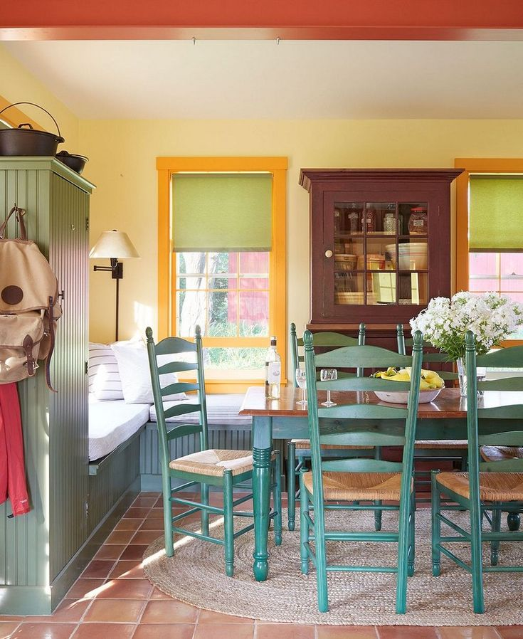 45 Awesome Farmhouse Dining Room Table And Decor Ideas