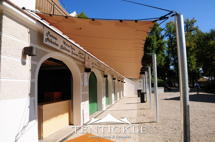 Small building extension #stretchtents