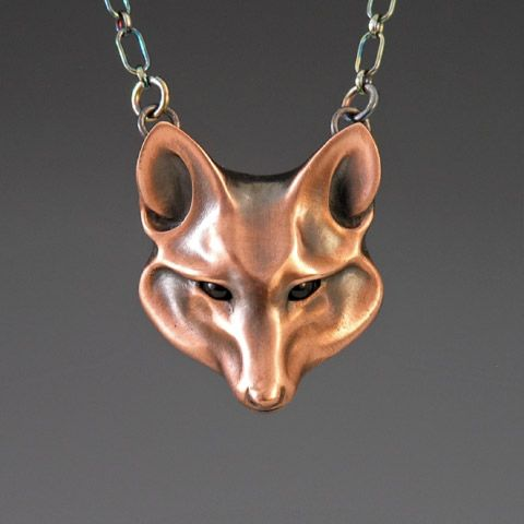 $230 - want! - overpriced, but so pretty. Pretty fox jewelry is so hard to find.